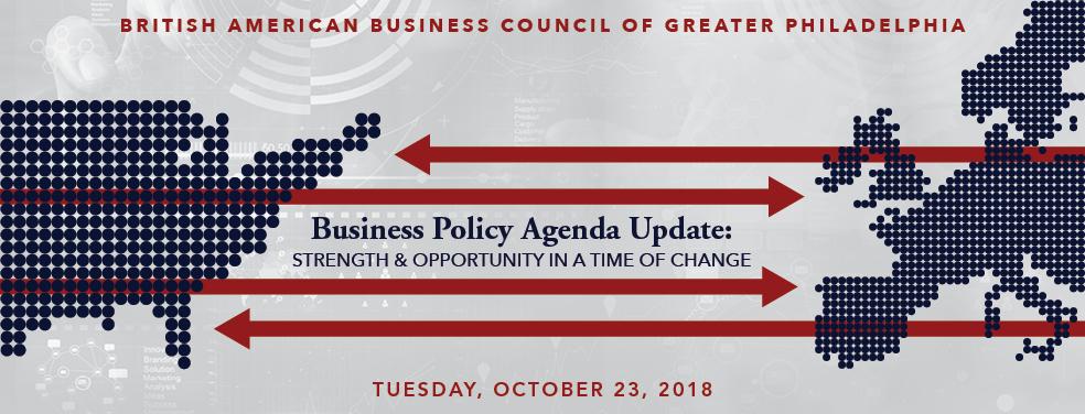 Business Policy Agenda Update Website Banner