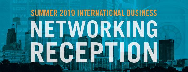2019 Summer Business Networking banner